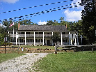National Register of Historic Places listings in Butts County, Georgia - Image: Old Indian Springs Hotel