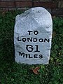 Old Milestone - geograph.org.uk - 1484810.jpg