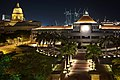 Old Supreme Court Building and Parliament House, Singapore, at night - 20091211.jpg