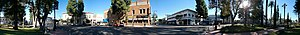 Old Towne, Orange Historic District - Image: Old Towne Orange Circle