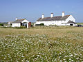 Old coastguard cottages at St Aldhelm's Head, Isle of Purbeck - geograph.org.uk - 27847.jpg