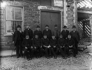 Old sailors, Y Borth