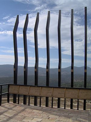 Olei Hagardom - Monument to Irgun members in Safed