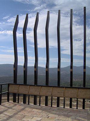 Olei Hagardom - Monument to Irgun members in Safed