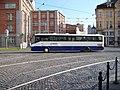 Olomouc, nám. Národních hrdinů, od Palackého k 8. května, autobus Arriva Morava.jpg