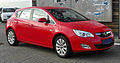Opel Astra 1.4 ecoFLEX Cosmo (J) front 20110116.JPG