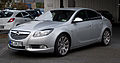 Opel Insignia 2.0 BiTurbo CDTI Sport OPC Line-Paket – Frontansicht, 3. April 2012, Velbert.jpg