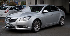 Opel Insignia A przed face liftingiem