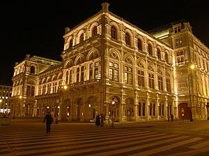 Eduard van der Nüll - Wiener Staatsoper (opera house).