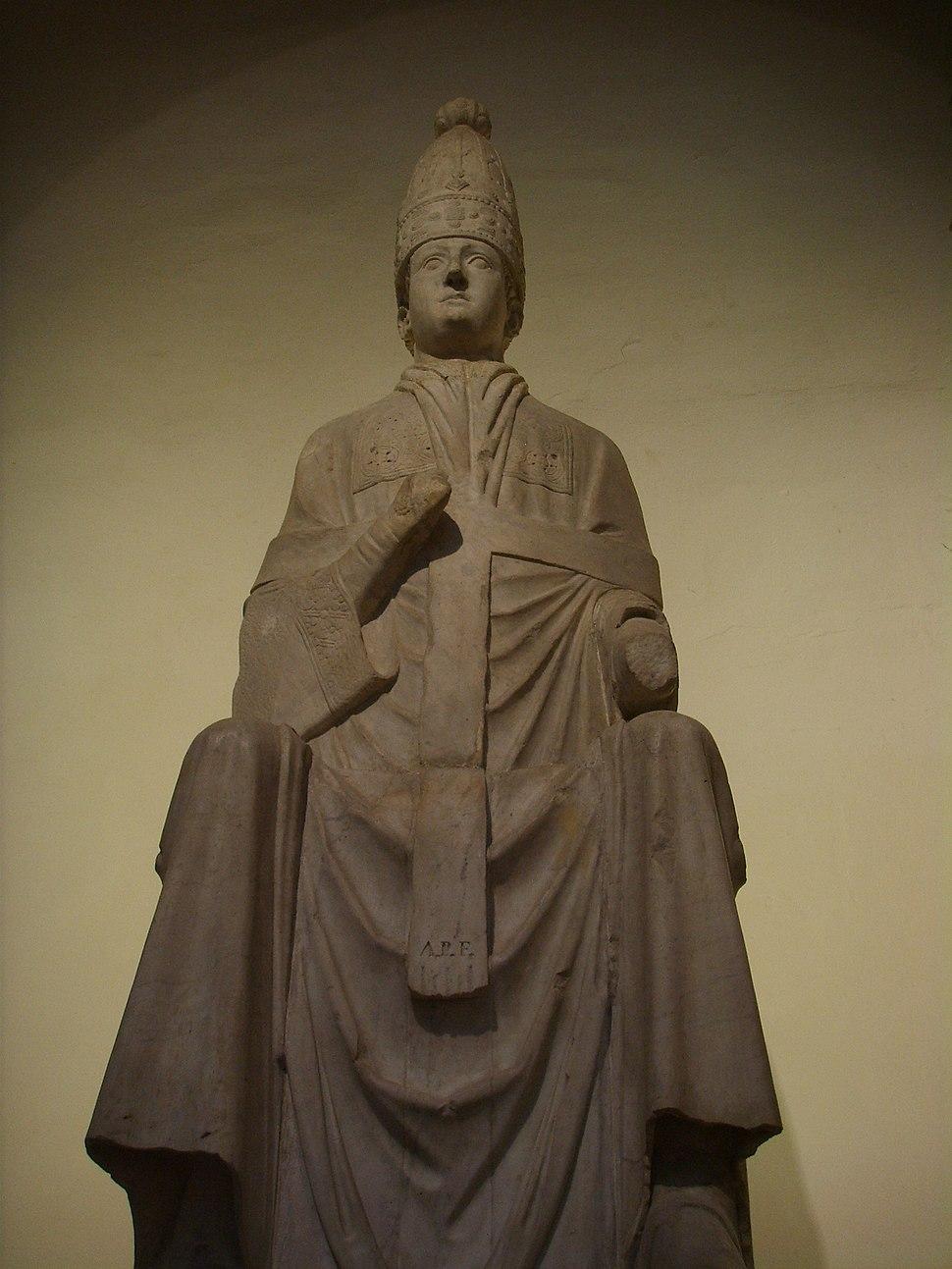 Opera del duomo (FI), arnolfo di cambio, Bonifacio VIII , 1298 circa, 03