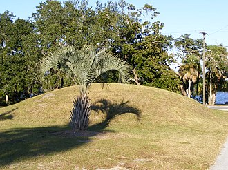 Ormond Mound - Image: Ormond Mound 0938