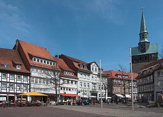 Kornmarkt in Osterode/Harz