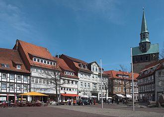 Osterode am Harz - Kornmarkt (grain market)