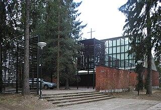 chapel in Espoo, Finland