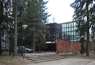 Kaija Siren - Otaniemi Chapel, Espoo, 1956