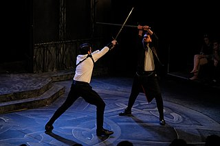 Stage combat Technique used in theatre to create the illusion of physical combat