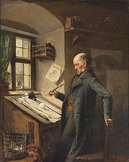 Otto Seitz – Śnieżka 1868