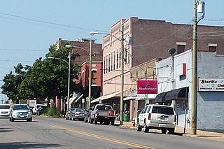 Ouachita Avenue Historic District United States historic place