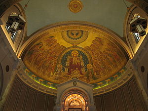 English: Basilica and National Shrine of Our L...