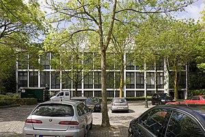 Jan Van Eyck Academie - Image: Overzicht van de gevel gelegen aan parkeerplaats Maastricht 20532265 RCE