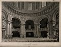 Oxford; the Radcliffe Camera, the interior of the library. L Wellcome V0014208.jpg