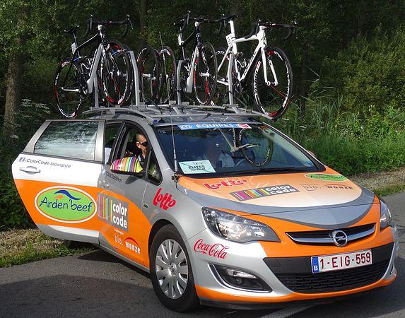 Péronnes-lez-Antoing (Antoing) - Tour de Wallonie, étape 2, 27 juillet 2014, départ (B31).JPG