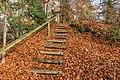 Pörtschach Leonstein Gloriettenweg W-Aufgang Treppe 28112019 7572.jpg
