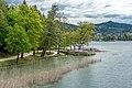 Pörtschach am Wörther See Halbinsel Landspitz Aussichtspunkt 06052019 6731.jpg
