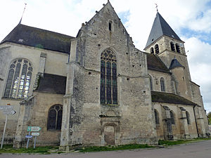 Bagneux-la-Fosse - The Church