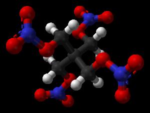 Pentaerythritol tetranitrate - Image: PETN from xtal 2006 3D balls B