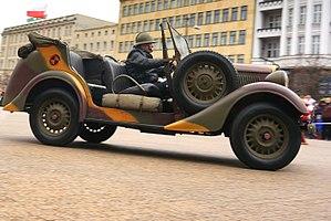 Państwowe Zakłady Inżynierii - Polski Fiat 508 III/W Łazik (1936-1939)