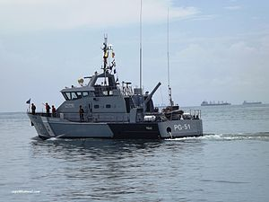 Pagalo (PG-51) - Image: PG 51 Pegalo clase Págalo tipo PB (Damen Stan Patrol 2606)