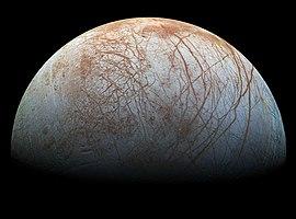 Europe prise par la sonde Galileo