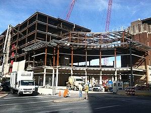 PPL Center - Construction of the PPL Center in September 2013.