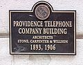 PPS Plaque on Providence Telephone Building.jpg