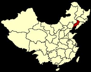 Liaoxi Province - Image: PRC 1949 Liaoxi map