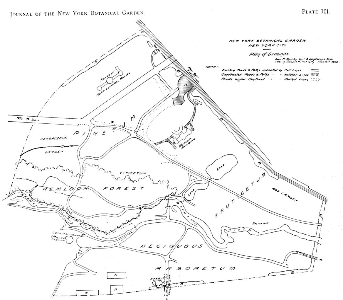 Map Of New York Botanical Garden.File Psm V57 D182 New York Botanical Garden Map Png Wikimedia Commons