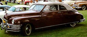 1949 Packard convertible coupe Packard Convertible Coupe 1949.jpg