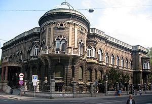 Academy of Music in Łódź - AM Rectorate at ul. Gdańska street