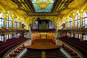 Palau de la Música Catalana - Image: Palau de la Música Catalana, the Catalan Concert Hall