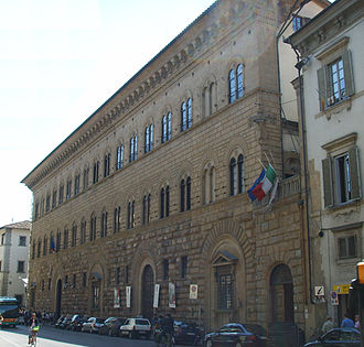 Ministry of the Interior (Italy) - Palazzo Medici Riccardi, in Florence, seat of the Ministry from 1865 to 1871; now seat of the provincial government