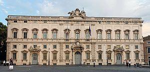 Palazzo della Consulta, seat of the Italian Co...