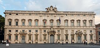 Palazzo della Consulta building