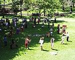 Palenque - Danse aztèque - Ronde.JPG