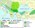 Paleo-Balkan languages in Eastern Europe between 5th and 1st century BC - Romanian.jpg