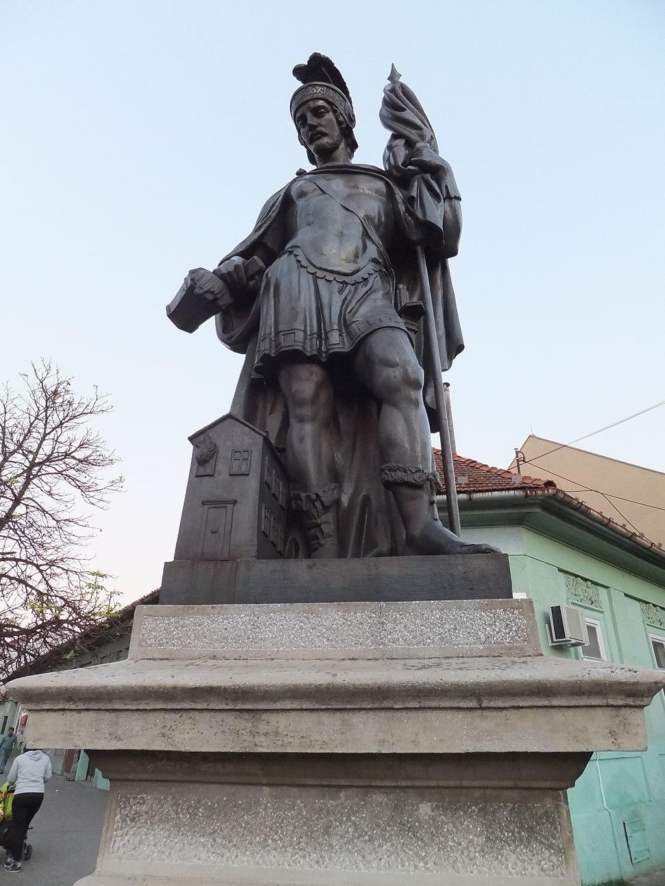 Pančevo kip svetog Florijana 3