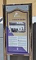 Panell informatiu del convent de sant Roc, Gandia.JPG