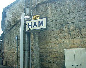 Ham (Cergy) - Ham village sign