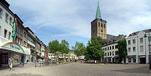 Viersen - Image: Pano remigiusplatz