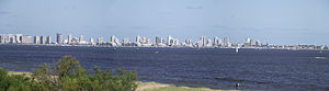 Punta del Este - A panoramic photo of Punta del Este.